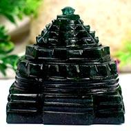Green Jade Shree Yantra - 244 gms