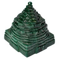 Green Jade Shree Yantra - 360 gms