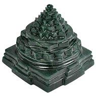 Green Jade Shree Yantra - 364 gms