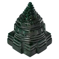 Green Jade Shree Yantra - 384 gms