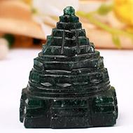 Green Jade shree Yantra - 67 gms