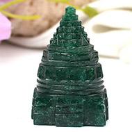 Green Jade Shree Yantra - 69 gms