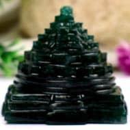 Green Jade Shree Yantra - 92 gms