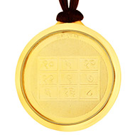 Guru Yantra with Kamlantika Devi - Gold Plated