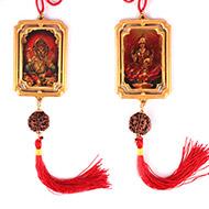 Hanging Ganesh-Laxmi Pendant - II