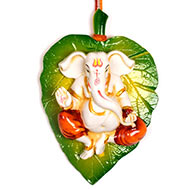 Peepal Leaf Wall Hanging Ganesha