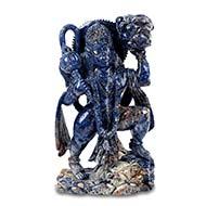 Hanuman in Blue Sodalite - 4690 gms