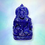 Hanuman in Lapis Lazuli - 428 gms