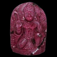 Hanuman in Ruby - 803 carat
