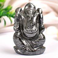 Hematite Ganesha - 106 gms
