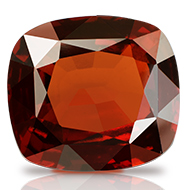 Hessonite Garnet - Gomed - 11.50 carats - Cushion