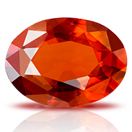 Hessonite Garnet - Gomed - 3 - 4 Carats