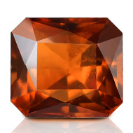 Hessonite Garnet - Gomed - 6.25 carats
