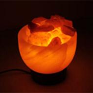 Himalayan Rock Salt Bowl Lamp