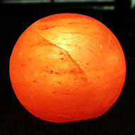 Himalayan Rock Salt Spherical Lamp