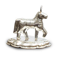 Horse in Silver
