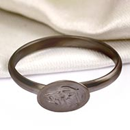 Horse Shoe Shani Ring