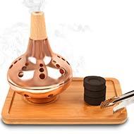 Incense Burner in Copper