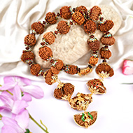 Indrakshi Mala in pure gold - II