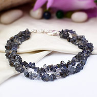 Iolite Double turn Bracelet