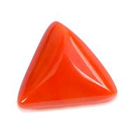 Italian Coral triangular - 11.40 carats