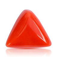 Italian Coral triangular - 17.35 carats
