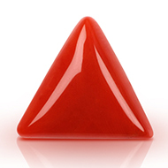 Italian Coral triangular- 9 to 11 carats