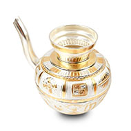 Jaldhari Abhishek pot in pure silver