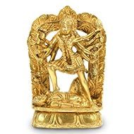 Kali in Brass