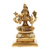 Kamakshi Devi in Brass