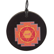 Kamdev Yantra locket on Rosewood