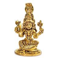 Karumari Devi Idol in Brass