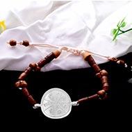 Karya Siddhi Yantra in Silver Bracelet