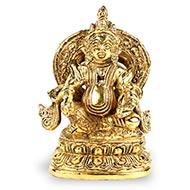 Kubera Idol in brass - II