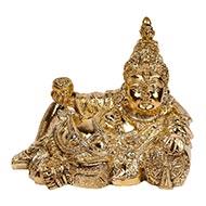 Kubera Idol in brass - IV