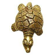 Kurma in Brass - Small