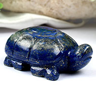 Kurma in Lapis Lazuli - 80 gms