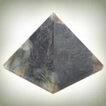 Labradorite Pyramid - Set of 2