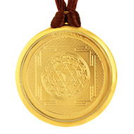 Lagna Yog Yantra Locket - Gold Plated