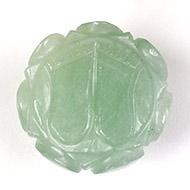Lakshmi Charan in Light Green Jade - 23 gms