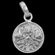 Lakshmi Locket - in Pure Silver - Design I