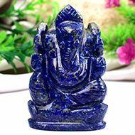 Lapis Lazuli Ganesha - 89 gms