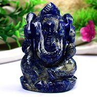 Lapis Lazuli Ganesha - 92 gms