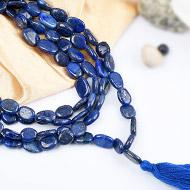 Lapis Lazuli oval mala - 9 mm