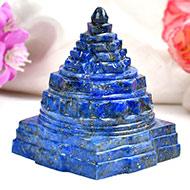 Lapis Lazuli Shree Yantra - 150 gms