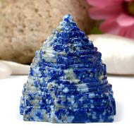 Lapis Lazuli Shree Yantra - 165 gms