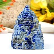 Lapis Lazuli Shree Yantra - 195 gms