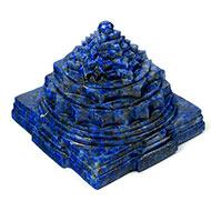 Lapis Lazuli Shree Yantra - 632 gms