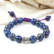 Lapis Lazuli with Buddha Bracelet