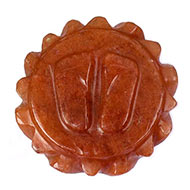 Laxmi Charan in Red Jade